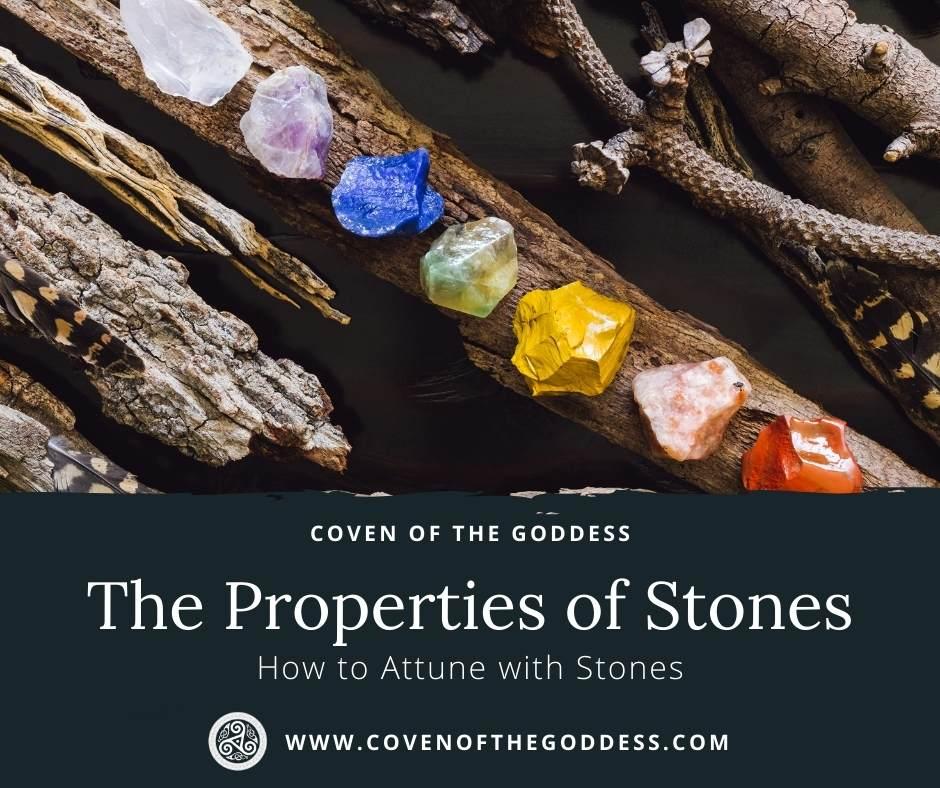 Properties of Stones - Stone Lore